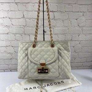 NWOT Marc Jacobs Lambskin Quilted Astor Bag Purse